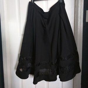 Torrid Mesh Detail A-Line Full Skirt 16